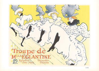 Troupe de Mlle Eglantine