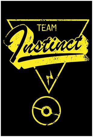 Team Instinct Distressed Rally Marker