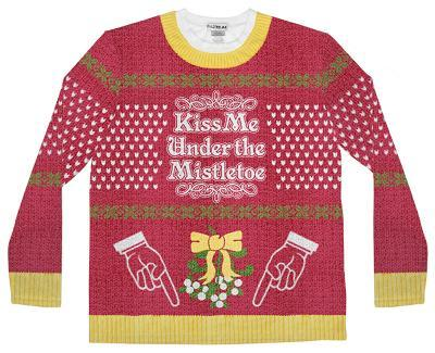 Long Sleeve: Mistle Toe Ugly Sweater (Front/Back)
