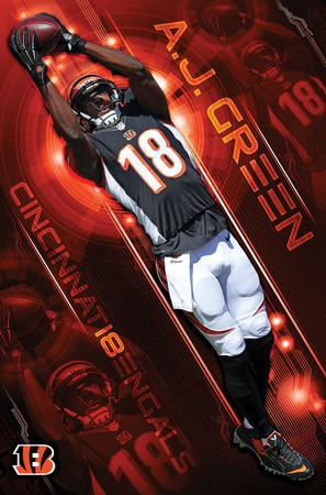 NFL: Cincinnati Bengals- A.J. Green 16