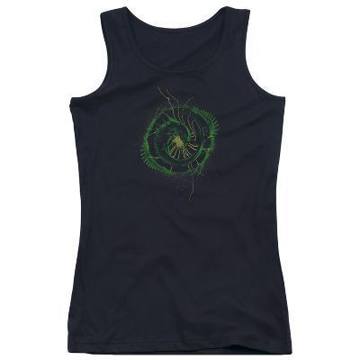 Juniors Tank Top: Alien- Xenomorph Spiral