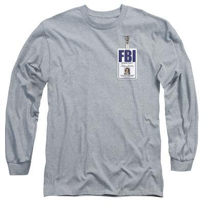 Long Sleeve: X Files- Scully Agency Badge