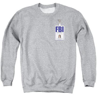 Crewneck Sweatshirt: X Files- Scully Agency Badge