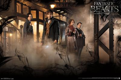 Fantastic Beasts And Where To Find Them- Group Shot