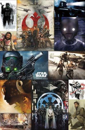 Star Wars: Rogue One- Key Moments Collage