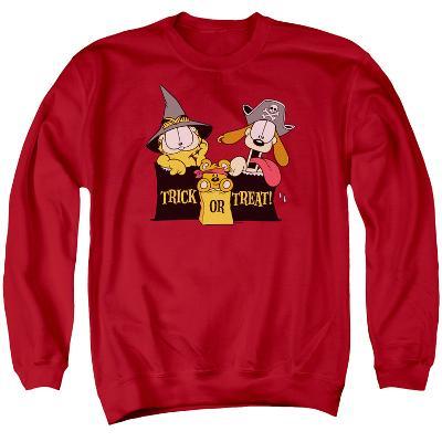 Crewneck Sweatshirt: Garfield- Trick Or Treat