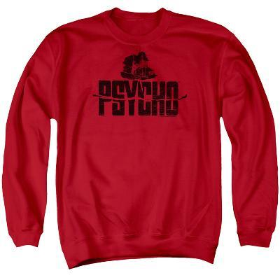 Crewneck Sweatshirt: Psycho- House On The Hill