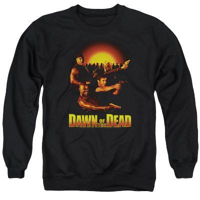 Crewneck Sweatshirt: Dawn Of The Dead- Dawn Collage