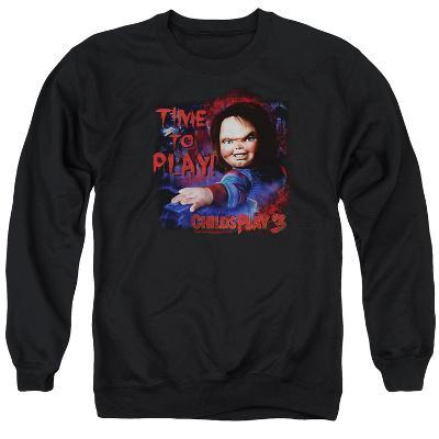 Crewneck Sweatshirt: Childs Play 3- Time To Play