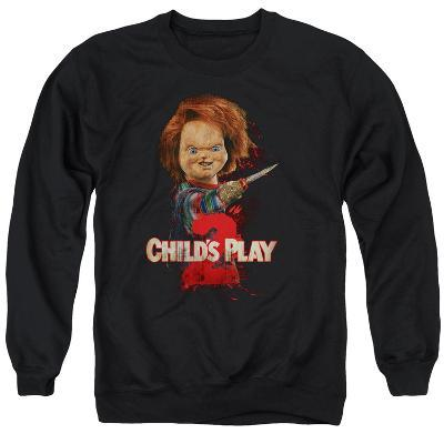 Crewneck Sweatshirt: Childs Play 2- Heres Chucky