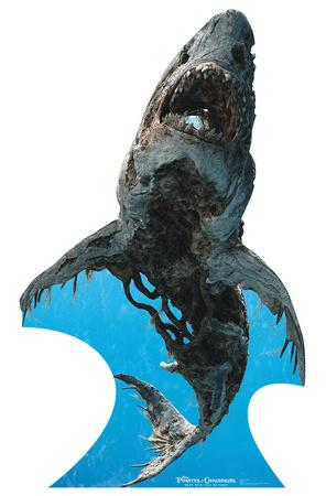 Ghost Shark - Pirates of the Caribbean 5