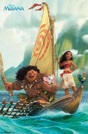 Moana- Sailing Along