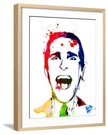 American Psycho Watercolor