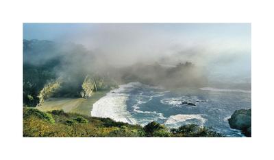 Waterfall Big Sur