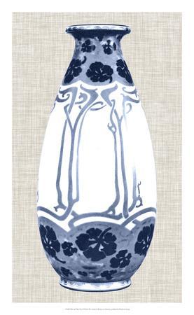 Blue & White Vase II