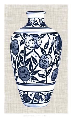 Blue & White Vase IV