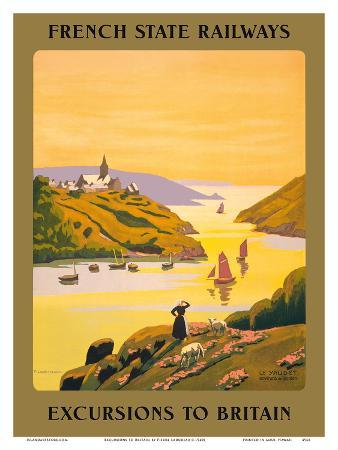 Excursions to Britain - French State Railways