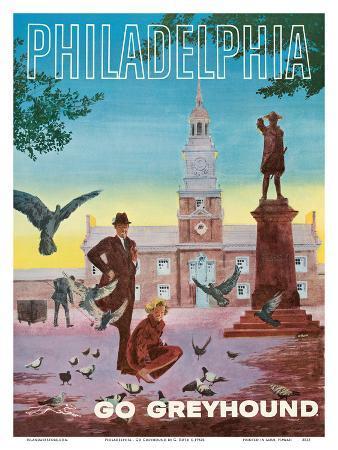 Philadelphia - Go Greyhound - Independence Hall