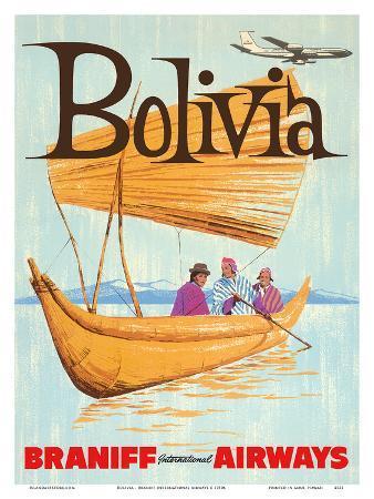 Bolivia - Braniff International Airways