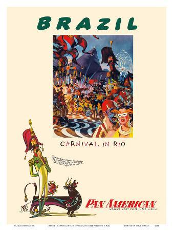 Brazil - Carnival in Rio - Pan American World Airways
