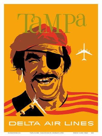 Tampa, Florida - Delta Air Lines - Pirate Buccaneer