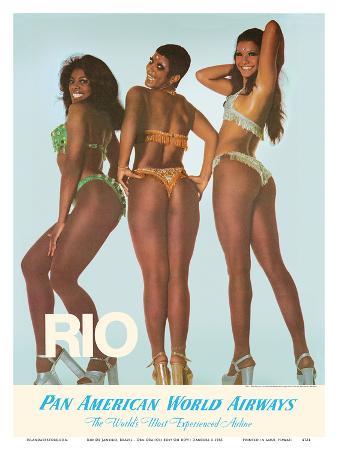 Rio De Janeiro, Brazil - Oba-Oba (Oh Boy! Oh Boy!) Dancers