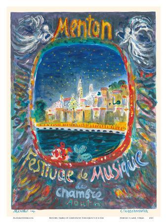 Menton, France - Chamber Music Festival (Festival de Musique de Chambre)