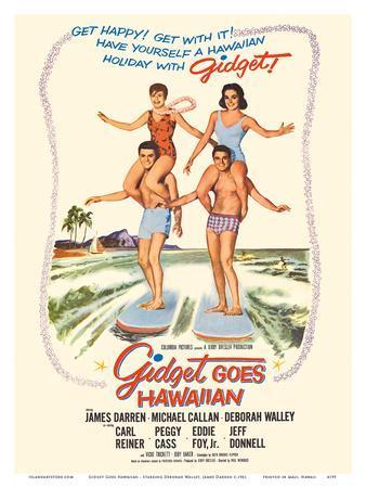 Gidget Goes Hawaiian - Starring Deborah Walley, James Darren