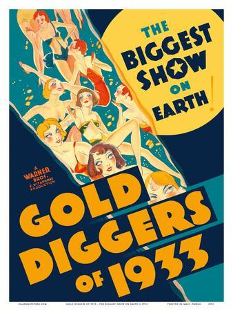 Gold Diggers of 1933 - Starring Warren William and Joan Blondell