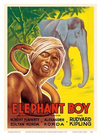 Elephant Boy by Rudyard Kipling - Starring Robert Flaherty