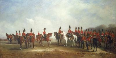 A Review of the 16th (The Queen's) Light Dragoons, 1851