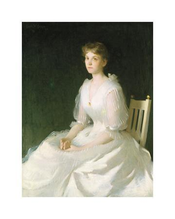 Portrait in White, 1889