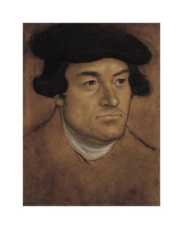 Portrait of a Man in a Black Cap