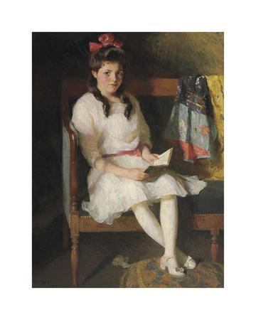 Portrait of Gertrude Russell, 1915