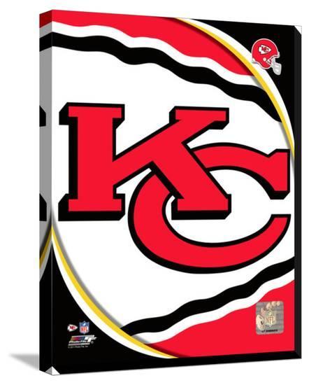 'Kansas City Chiefs 2011 Logo' Stretched Canvas Print ...