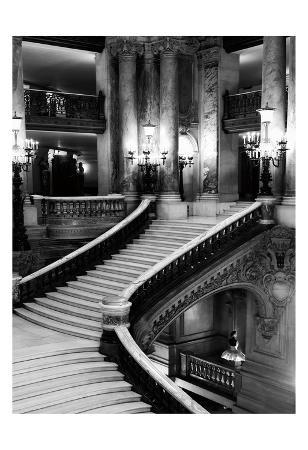 BW Grand Stairs