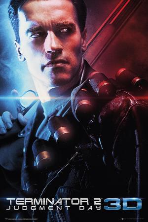 The Terminator: Judgement Day 3D One Sheet