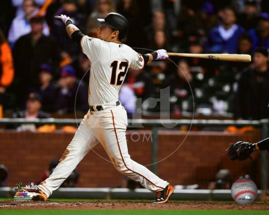 Joe Panik game winning double Game 3 of the 2016 National League Division  Series
