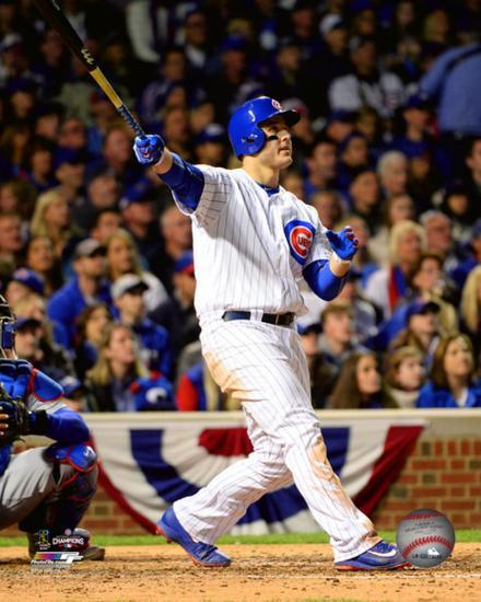 Anthony Rizzo Home Run Game 6 of the 2016 National League Championship  Series