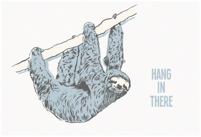 Hang in There- Horizontal Sloth