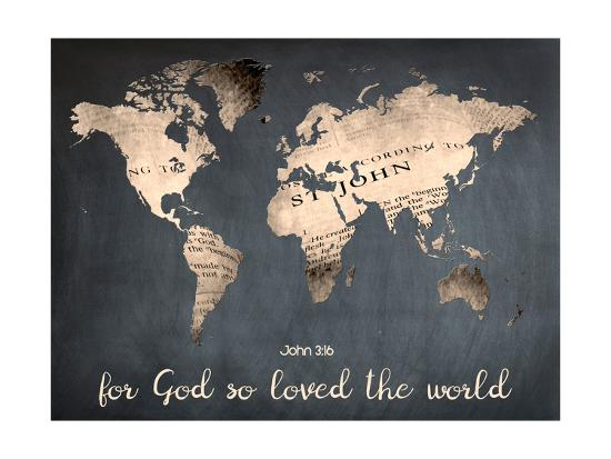 For God So Loved The World Poster By Sheldon Lewis At Allposterscom