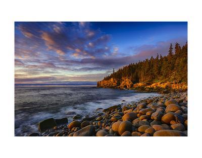 Sunrise on Otter Cliffs #4