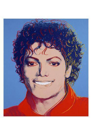Michael Jackson 1984 Andy Warhol