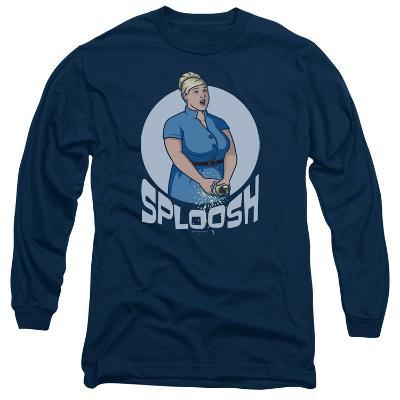 Long Sleeve: Archer- Sploosh