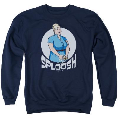 Crewneck Sweatshirt: Archer- Sploosh