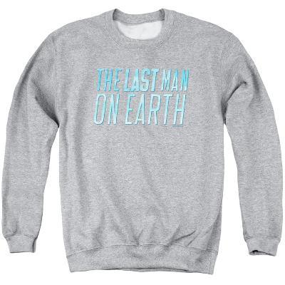Crewneck Sweatshirt: Last Man On Earth- Bloack Sky Logo