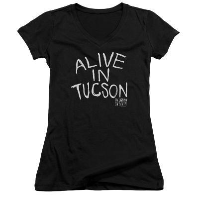 Juniors: Last Man On Earth- Alive In Tucson V-Neck