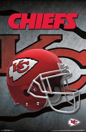 NFL: Kansas City Chiefs- Logo Helmet 16