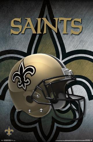 Nfl New Orleans Saints Logo Helmet 16 Prints At Allposters Com