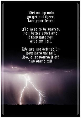Face Your Fears, Stand Tall